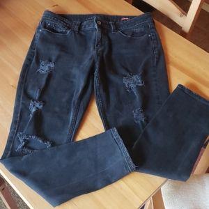 Arizona skinny ripped boyfriend jeans